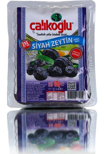 Çalıkoğlu DoğalSiyah Zeytin 800 Gr / 351-380 (2XS)