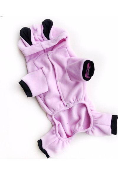 Kemique Pink Bee Kedi Tulumu Kedi Kıyafeti