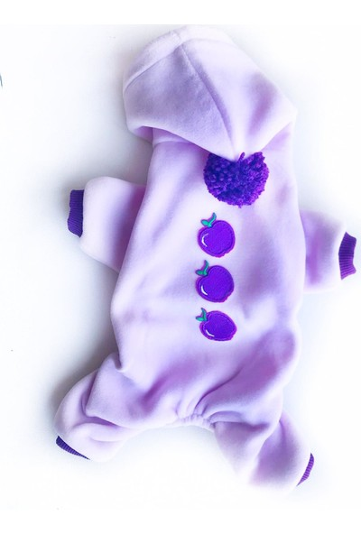 Kemique Purple Apple Kedi Tulumu Kedi Kıyafeti