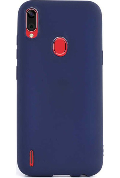 Microcase Casper Via E3 Premium Matte Silikon Kılıf Lacivert