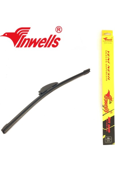 Oto Aksesuarcım Inwells Universal Aero Dynamics Muz Silecek 400 mm