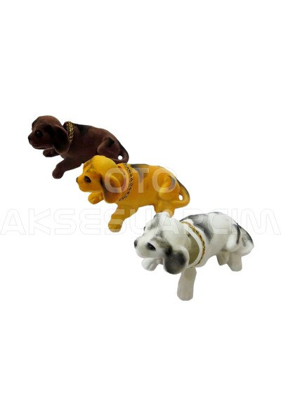 Oto Aksesuarcım Kafa Sallayan Köpek Kahverengi