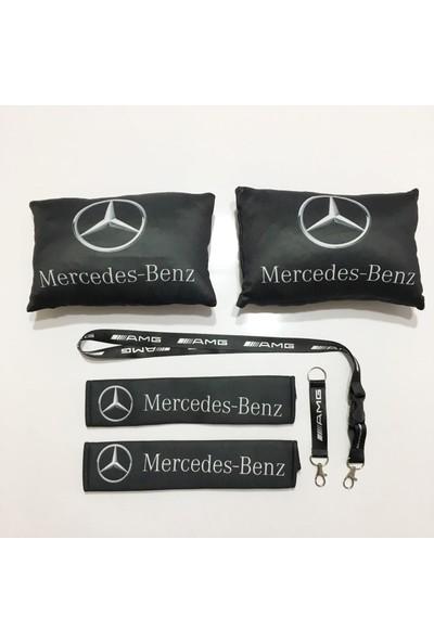 Oto Aksesuarcım Mercedes Boyun Yastık Seti