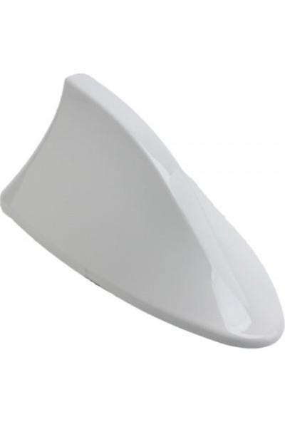 Oto Aksesuarcım Balık Sırtı Jaws Elektronik Anten Beyaz