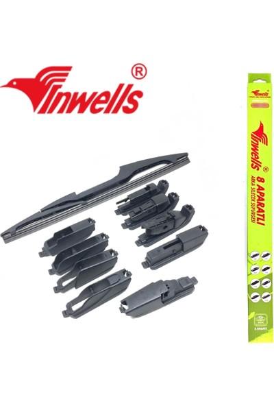 Oto Aksesuarcım Inwells 8 Aparatlı Muz Arka Silecek 400 mm