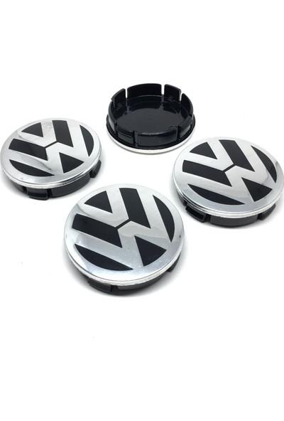 Oto Aksesuarcım Volkswagen Metal Geçme Jant Göbeği 4'lü 55/60 mm