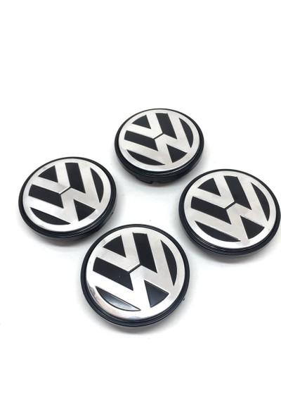Oto Aksesuarcım Volkswagen Metal Geçme Jant Göbeği 4'lü 55/65 mm 3B7601171