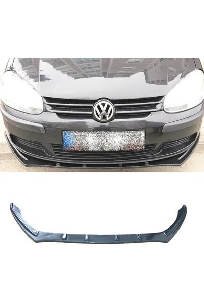 Oto Aksesuarcım Volkswagen Golf 5 Piano Black Lip Ön Tampon Eki