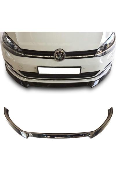 Oto Aksesuarcım Volkswagen Golf 7 Piano Black Lip Ön Tampon Eki