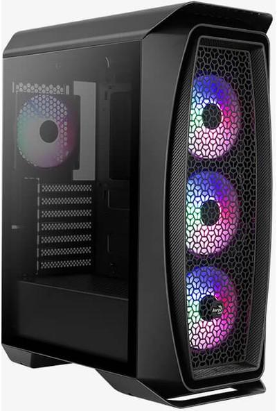 Aerocool Aero One Frost 500W 80+ Cam Yan Panel 4x12cm FRGB USB 3.0 Oyuncu Kasası (AE AERO1FR580)