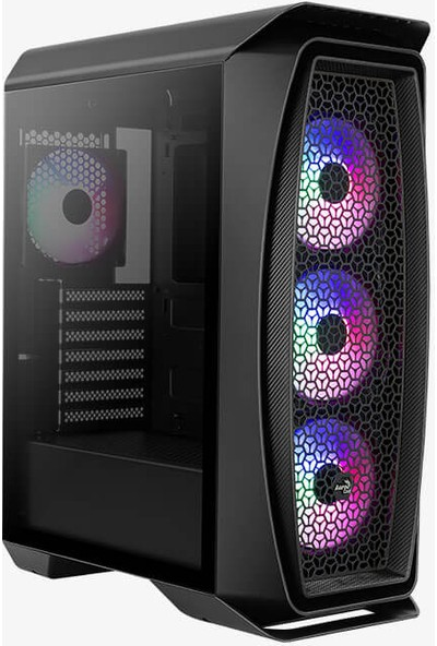 Aerocool Aero One Frost 600W 80+ Cam Yan Panel 4x12cm FRGB USB 3.0 Oyuncu Kasası (AE AERO1FR680)