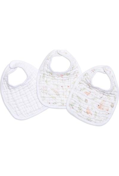 Funna Baby 3'Lü Muslin önlük - Garden - Standard