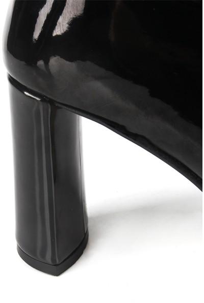 Gökhan Talay Nilou Siyah Rugan Kadın Bot