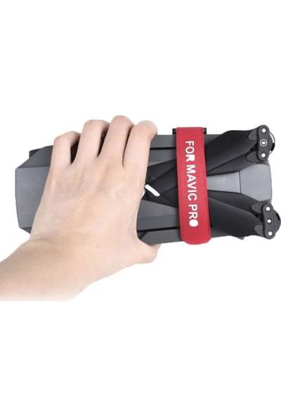 Sunnylife Mavic 2 Pro & Zoom İçin 2'li Kırmızı Pervane Gövde Sabitleme Bandajı