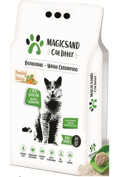 Magicsand Cat Litter Portakal Kokulu İnce Taneli Kedi Kumu 20 l