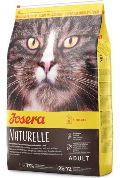 Josera Naturelle Sterilised Tahılsız Kısır Kedi Maması 10 kg