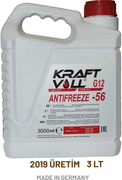 Kraftvoll Kırmızı Antifiriz 3 lt