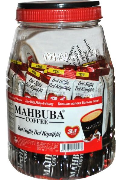 Mahbuba Kahve 3ü1 Arada Sütlü Köpüklü 36'lı Kahve Kupa Hediyeli