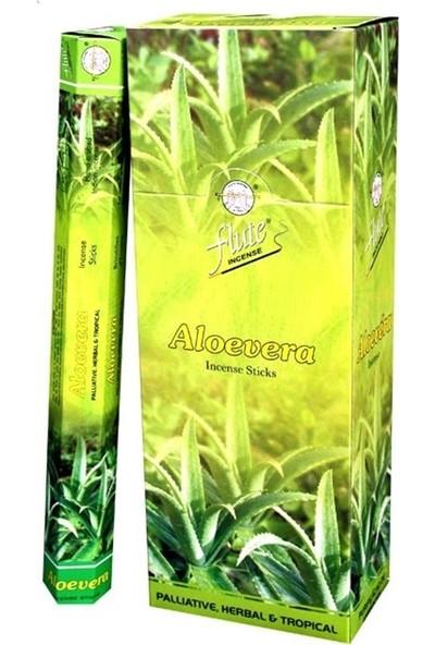 Flute Tütsü Aloe Vera Aloe Vera 120 Adet Sticks Incense