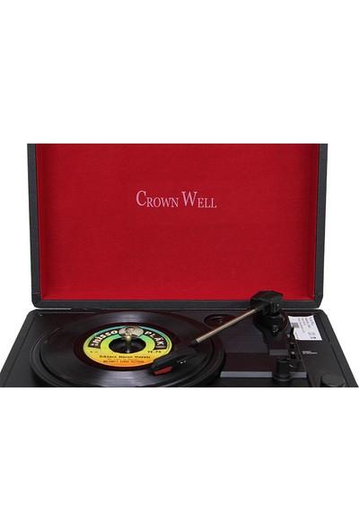 Crown Well C0094 Çantalı Pikap Siyah