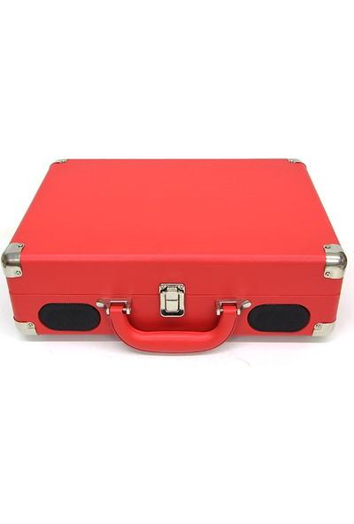 Crownwell Pikap Çantalı Önden Hoparlörlü Kırmızı Renk