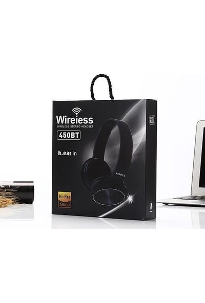 Ally AL-31308 450 BT 5.0 Kablosuz Kulak Üstü Bluetooth Kulaklık
