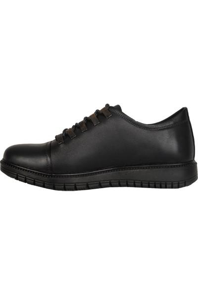 Dropland 7758 Laci %100 Deri Kışlık Erkek Sneaker Ayakkabı