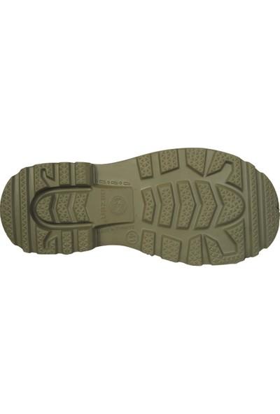 Gezer 00361 Yeşil Kısa Su Soğuk Geçirmez Kışlık Erkek Çizme Bot