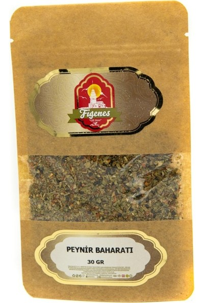 Figenes Peynir Baharatı Kraft Paket 30 gr