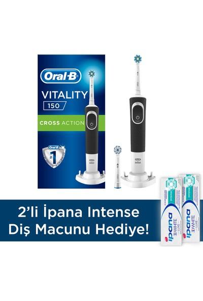 Oral-B D150 Vitality Plus + 2 İpana Intense Macun Hediye
