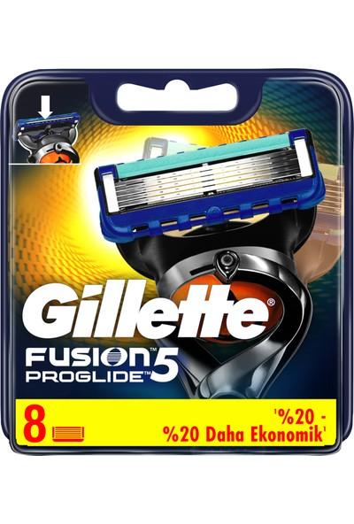 Gillette Fusion ProGlide 8'li Yedek Tıraş Bıçağı