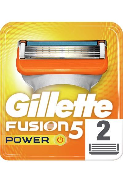 Gillette Fusion Power 2'li Yedek Tıraş Bıçağı