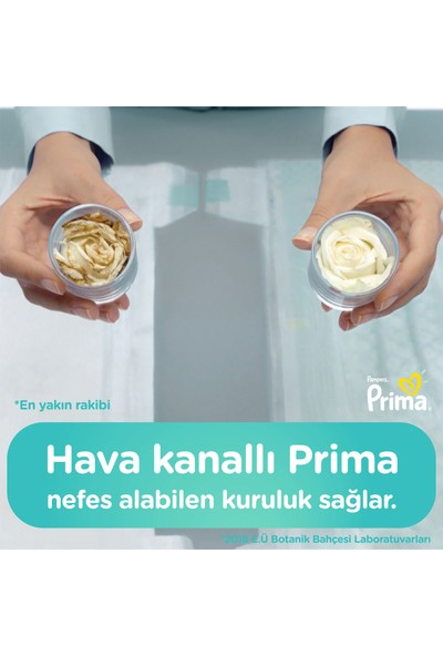 Prima Bebek Bezi Yeni Bebek 1 Beden 62 Adet Yenidoğan İkiz Plus Paket