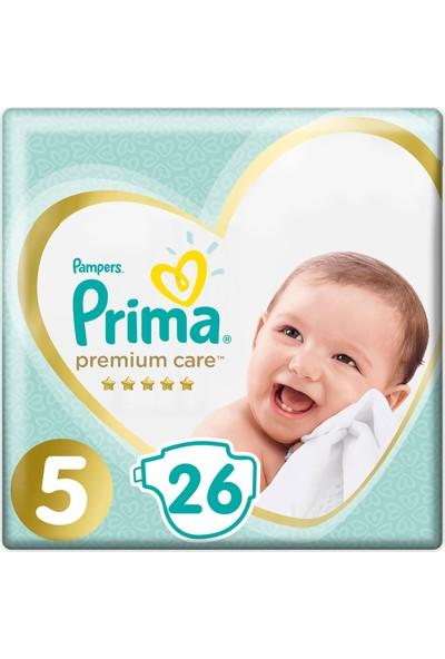 Prima Bebek Bezi Premium Care 5 Beden 26 Adet Junior Ekonomi Paketi