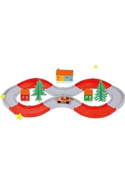 Pilsan Sonsuz Yol Oyuncak Araba Seti