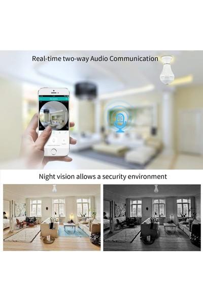 Besdersec Full Hd Panoramik Wi-Fi Ip Kamera