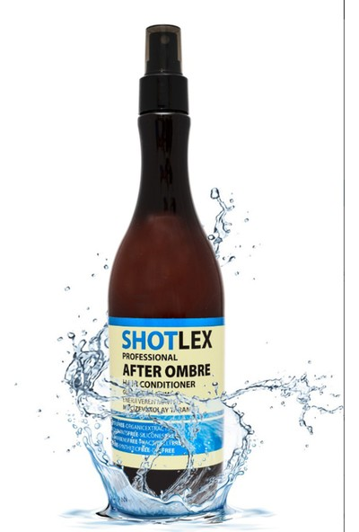 Shotlex After Ombre Fön Suyu - Mavi Su 375 ml