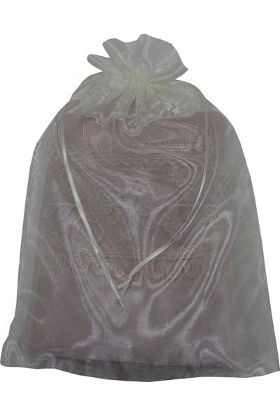 Dantelli Bohça Kesesi 5'li Havlu & Çamaşır Kesesi