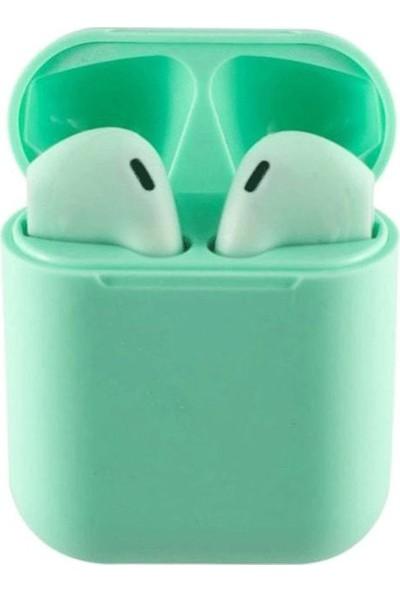 Tws i12 Bluetooth Kulaklık Yeşil