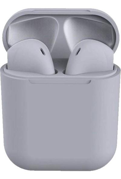 Tws i12 Bluetooth Kulaklık Gri