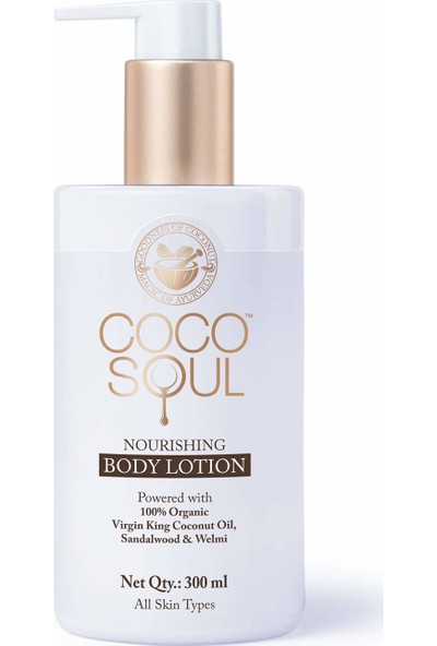 Coco Soul Nourishing Body Lotion - Besleyici Vücut Bakım Losyonu - 300 ml