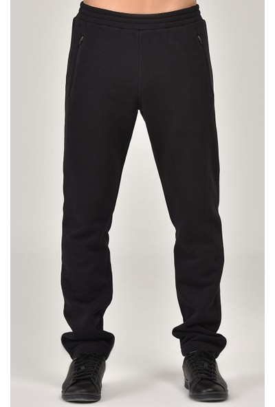 Bilcee Siyah Kışlık Erkek Eşofman Altı FW-1496