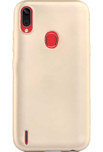 Microcase Casper Via E3 Premium Matte Silikon Kılıf - Gold