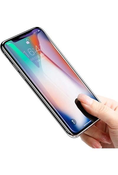 Baseus SGAPIPHX-HEB01 iPhone X/Xs 0.20Mm Anti Blue Light 4D Full Ekran Koruyucu - Siyah