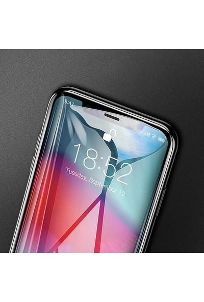 Baseus SGAPIPHX-KE01 iPhone X/Xs 0.3 mm Rigid Edge Full Kaplama Cam Koruyucu - Siyah