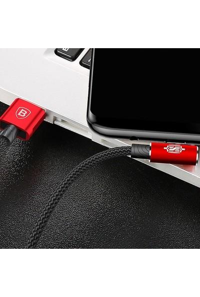 Baseus CATMVP-B09 MVP Elbow USB Type-C 1.5A Oyuncu USB Kablo 2 m - Kırmızı