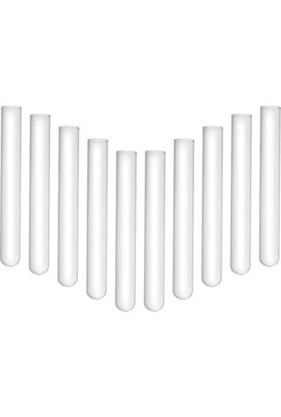 Castimolab Deney Tüpü Dibi Yuvarlak 18 x 180 mm 10 Adet