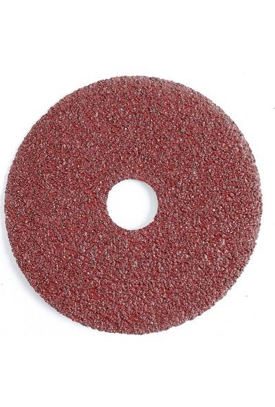 Interflex Alüminyum Oksit Af 581 Fiber Disk Zımpara 24 Kum 180 mm Çap 25 Adet