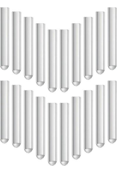 Castimolab Deney Tüpü Dibi Yuvarlak 12 x 75 mm 20 Adet