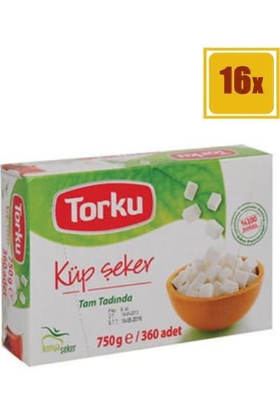 Torku Küp Şeker 750 gr 16'lı Set
